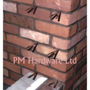 Bluebird Stainless Steel Wall Starter Screw Ties